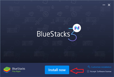 instalar bluestacks